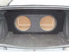 """2008+ Dodge CHALLENGER SUB BOX Subwoofer Speaker Enclosure 2-12"""" (ver 3)"""