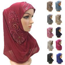 Muslim Women Hijab Amira Scarf Headscarf Wrap One Piece Shawl Islamic Headwear