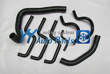 HOLDEN COMMODORE VL 3.0L V6 86 87 88 Silicone Radiator Heater Hose Kit Black