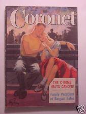 CORONET July 1952 MARLON BRANDO MARY ROBERTS RINEHART U.S.S. WISCONSIN +++