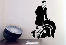 Skinhead Uomo Logo 70 S 80 S Lounge Vinyl Wall Art Decalcomania Sticker