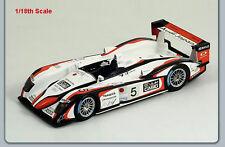 1/18 Spark Model Audi R8 Team Goh  1st Le Mans 2004  Ara/Capello/Kristensen