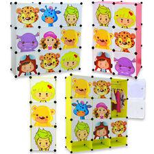 Magic Kid Wardrobe Childrens Cabient Character Design Cube Shoes Corner Storage