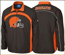 Reebok Cleveland Browns  Play-Maker Jacket. New 5373A