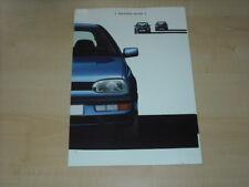 27026) VW Golf III Prospekt 1991