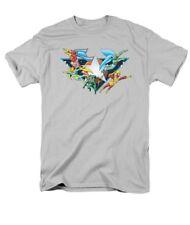Justice League II Star Power Sheldon Cooper Licensed DC Comics Adult Shirt S-3XL