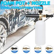 1L Pressure Washer Snow Foam Lance Cannon Gun Soap Bottle Car Foamer Wash Clean