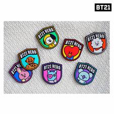 Regalo Gratis BTS BT21 oficial por línea amigos Deco Sticker Set 10 un.
