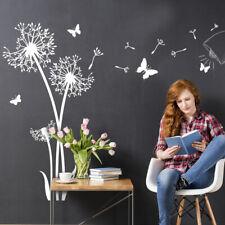 Wandtattoo Wandsticker Wandaufkleber Wohnzimmer Pusteblumen Schmetterlinge W5463