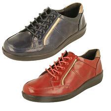 mujer Padders Cordones Zapatos Orma Ancha Zapatos - Atom