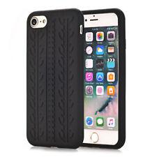 "Apple iPhone 7 8 4.7"" Silikon Soft Handy Tasche Reifen Muster Skin Profil Cover"