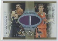 2006-07 Upper Deck Reflections #DR-DS Peja Stojakovic Mike Dunleavy Jr Jr. Card