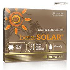 Beta-Solar 30-240 Caps. Deep Dark Tan Accelerator Tanning Pills Instant Results