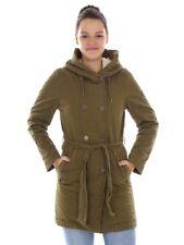 O'Neill Parka Winter Coat Hooded Jacket Green Utility Padded Pockets