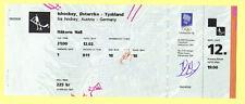 Ticket     Olymp.Spiele LILLEHAMMER 1994   Eishockey    ÖSTERREICH - DEUTSCHLAND