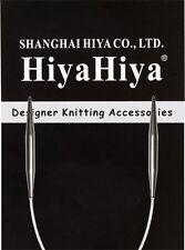 "HiyaHiya 9"" Stainless Steel Circular Knitting Needles"