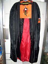 "54"" ADULT VAMPIRE CAPE COSTUME SIZE 46-48 CHEST / 38-42 WAIST"