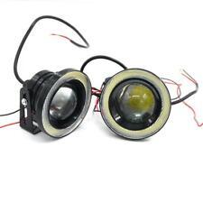 "COB LED Fog Light Projector Angel Eye Halo Ring DRL Driving Bulbs 2.5"" 3"" 3.5"""