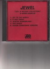 jewel christmas 5 song sampler cd promo