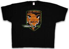 4xl & 5xl FOX HOUND Group T-shirt METAL mgs snake gear solid shirt XXXXL XXXXXL