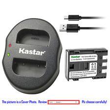 Kastar Battery Dual Charger for Canon NB-2L CB-2LW & Canon MV790i MV800 MV800i
