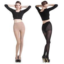 80D Sexy Women Pantyhose Hosiery Smooth Seamless Stockings Tight Skin Black/Nude