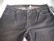 INC International Concepts Mens Black 100% Cotton Denim Jeans Sz 38/32