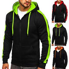 Kapuzenpullover Pullover Sweatshirt Sweatjacke Hoodie Herren Mix BOLF 1A1 Basic