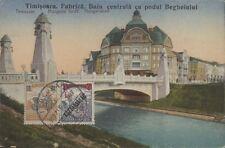 HUNGARY TIMISOARA FABRICA BAIA CENTRALA CU PODUL BEGHEIULUI TEMESVÁR HUNGARIA