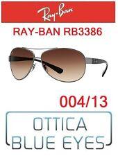 Occhiale da Sole RAYBAN RB3386 004/13 Sunglasses Ray Ban Sonnenbrillen PILOT