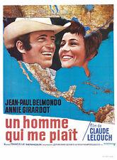 Un homme qui me plait Jean-Paul Belmondo movie poster