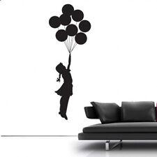 Estilo Banksy Muchacha Del Globo 2 Decoración de pared adhesivos
