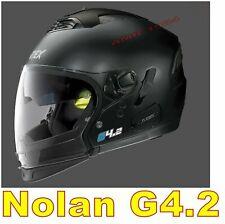 CASCO NOLAN GREX G4.2 PRO N-COM ex N43E AIR NERO OPACO COL.2/22  6 Taglie