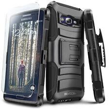 Galaxy E5 Case, Evocel Rugged Holster Kickstand & Belt Clip Case + Screen Saver