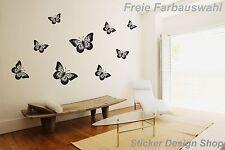 Schmetterlinge Butterfly Wandtattoo Auto Laptop Toilettendeckel Aufkleber Deko