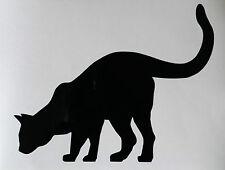 Sticker chat qui regarde vers le bas, idéal sur des escalier ou sur un meuble