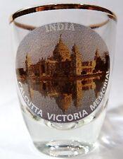 INDIA CALCUTTA VICTORIA MEMORIAL SHOT GLASS SHOTGLASS