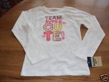 Osh Kosh B'gosh girls Team Super Cute 6 long sleeve t shirt NWT 22.00 ^^