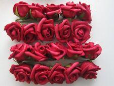 ROSE in Schiuma per Matrimonio Festa Ballo Sposa Bouquet Posy per capelli Clip pettine MINI