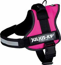 K9 French or Bulldog power house harness Dog Pink Fuchsia mini S 0/M-L / 1/Large
