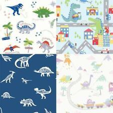 Kids Nursery Fun Dinosaur wallpaper Dino Town Doodles Dictionary Road