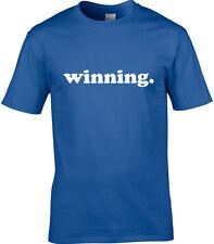 gagnant Marrant Pour Hommes T-shirt drôle décoration UNIQUE Mot HUMOUR COOL joke