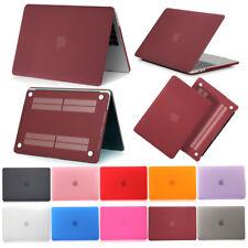 Rigid Rubberized Matte Slim Case Cover Shell for Apple Macbook 11 12 13 15 Inch