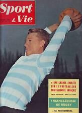 1961 sport et vie n°57 LFOOT PRO LE CYCLISME BRETON RUGBY FRANCE ECOSSE BEZIERS