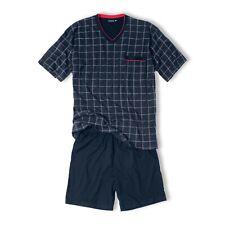 Götzburg Herren Pyjama Set Schlafanzug Shorty Antonio S M L XL XXL 3XL