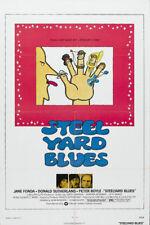 Steelyard blues Jane Fonda vintage movie poster print