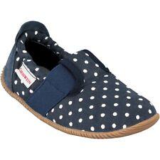 Giesswein 44711 Silz Slim Fit Baumwolle Hausschuhe Schuhe blau Gr. 28 - 35 Neu