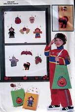 Halloween ornaments pattern ornies spider pumpkin witch