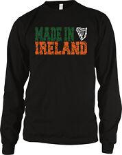 Made In Ireland Harp Celtic Eire Irish Pride Emerald Isle Long Sleeve Thermal
