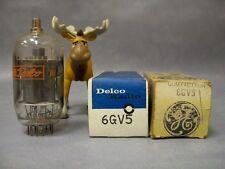 6GV5 Vacuum Tubes  Lot of 2  Delco / GE